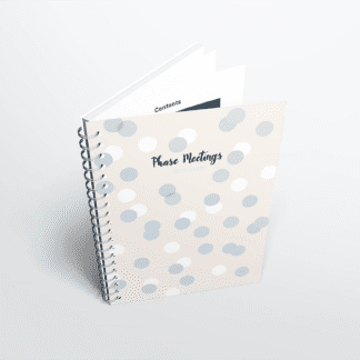 Phase Meetings Notebook 2019-2020