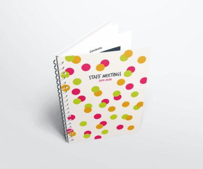 Scottish Staff Meeting Notebook 2019-2020
