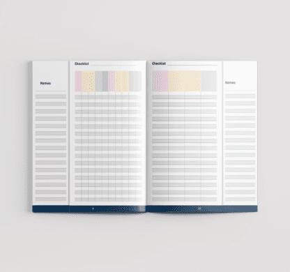Teacher's Checklist Inner Preview 2019-2020