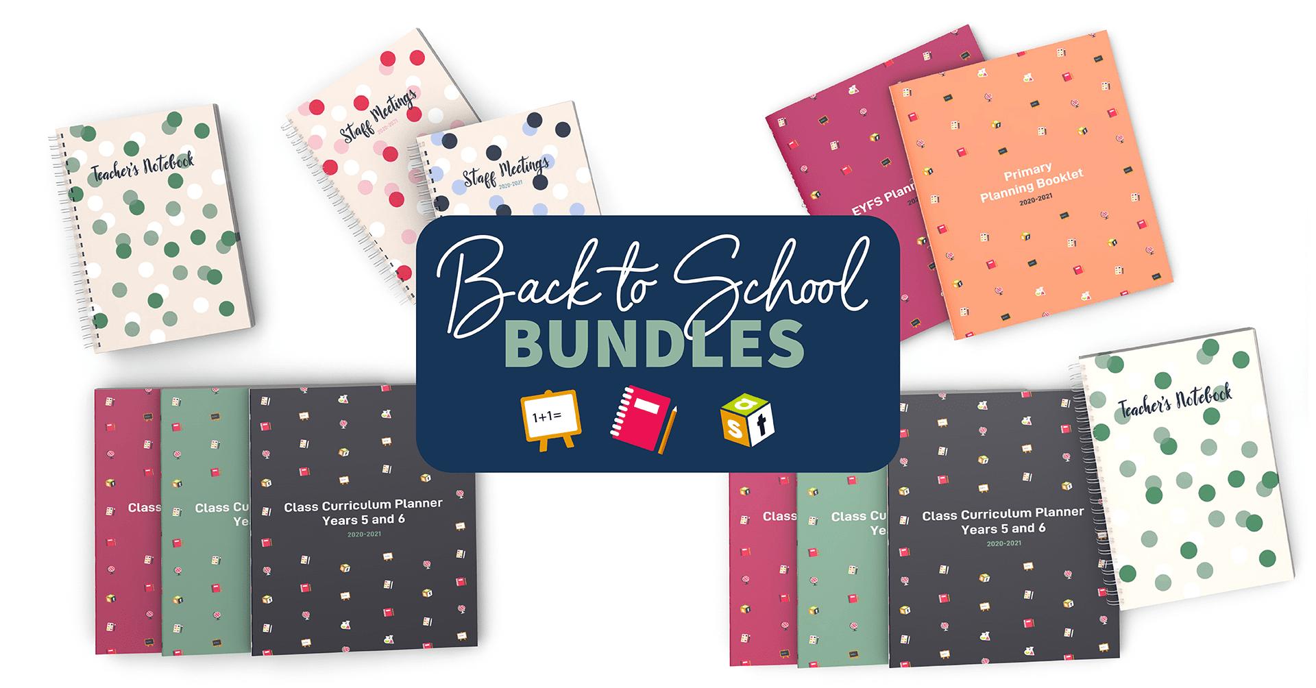 Back to School Bundle Web Banner